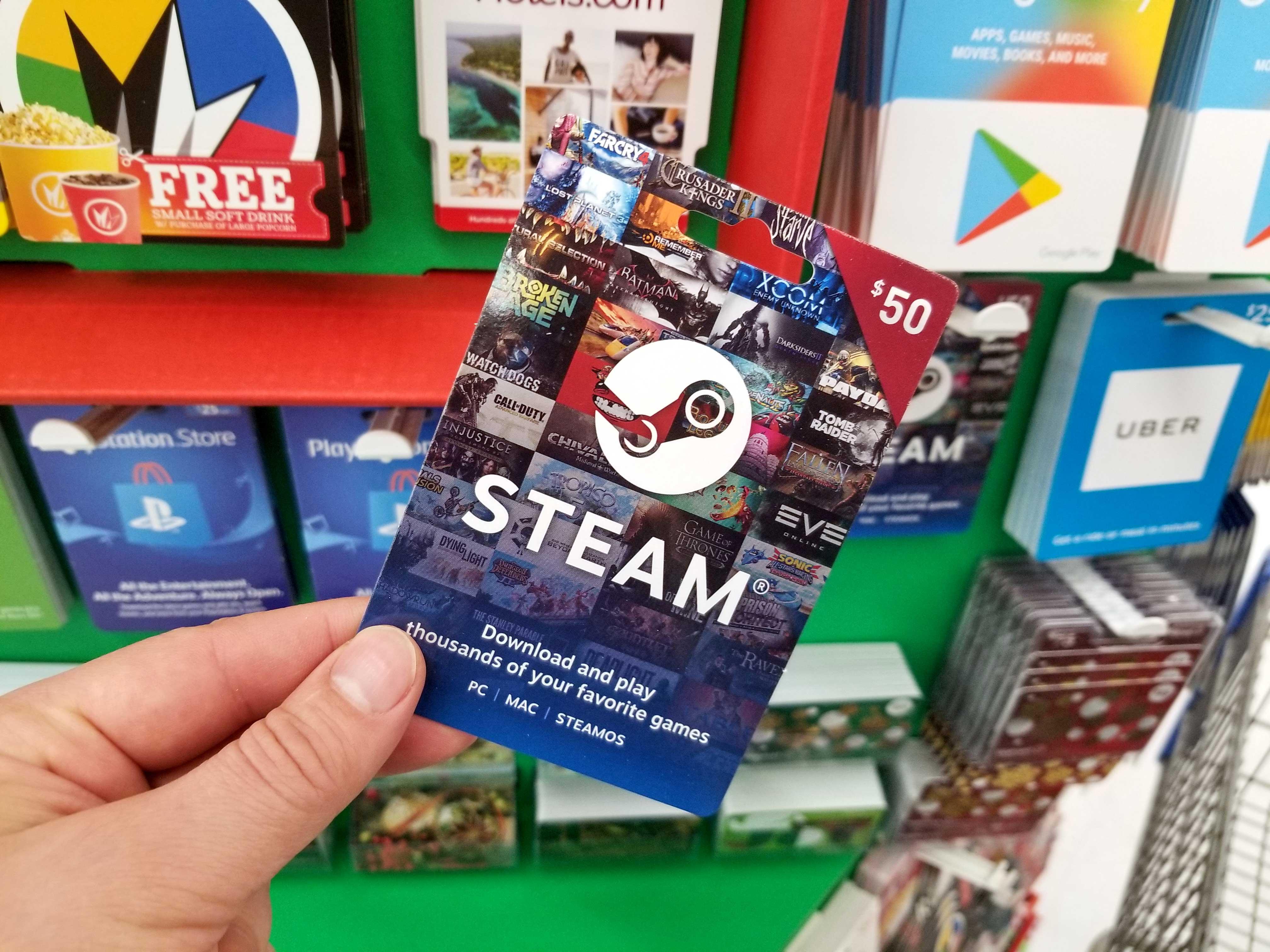 steam-gift-card, Toughest Level, toughestlevel.com